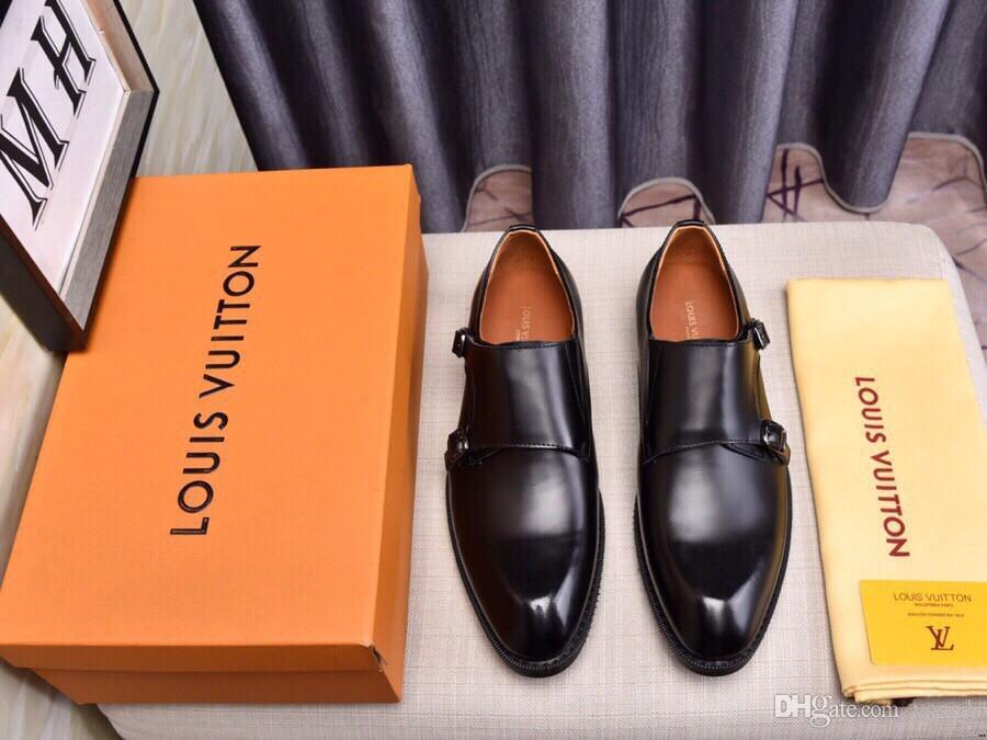 Homme classique en cuir verni chaussures de mariage noir Oxford chaussures formelles de grande taille
