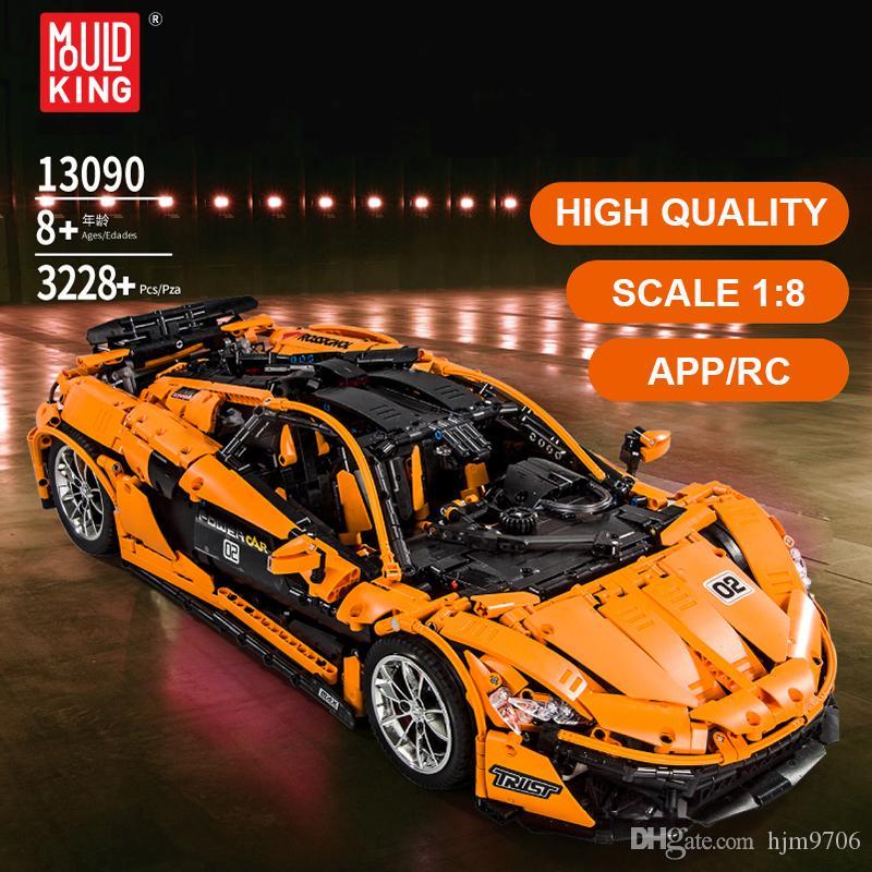Custom Technic F1 2020 Super Series Racers MOC Sports Car Racing Building Block