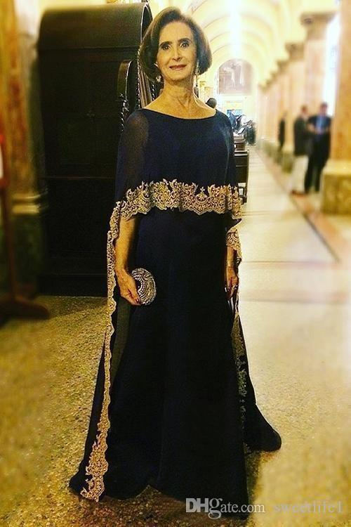 2020 Vintage Mother of the Bride Dresses Chiffon Mothers Formal Party Evening Gowns A Line Prom Wear Saudi Arabia
