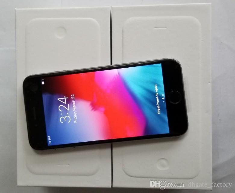 آبل iPhone 6 plus 1GB RAM 4.7 بوصة IOS12 ثنائي النواة 1.4 جيجا هرتز 16 64 128GB ROM 8.0 MP Camera 3G WCDMA 4G LTE Used Mobile