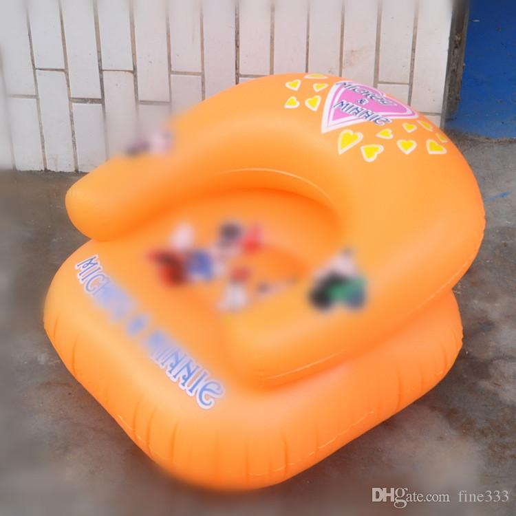 Kids toy Inflatable Sofa Baby Kid Children Inflatable Bathroom Sofa Chair Seat Learn Portable Multifunctional YH-17