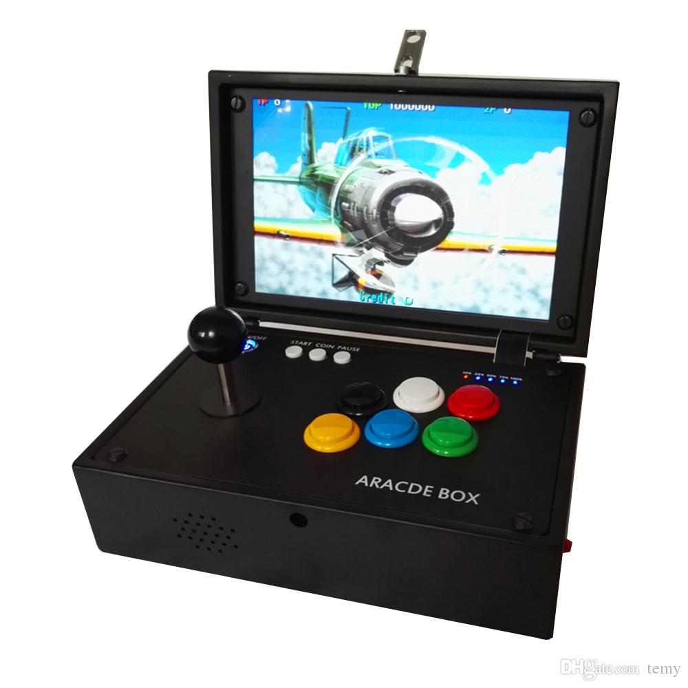 New products made in china 10 inch mini arcade game machine using multi game pandora box 9D