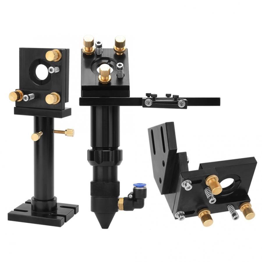 Segundo refletor Mirror Frame Preto Oxide Film alumínio Laser Top Espelho Set Frame for máquina de gravura do Laser