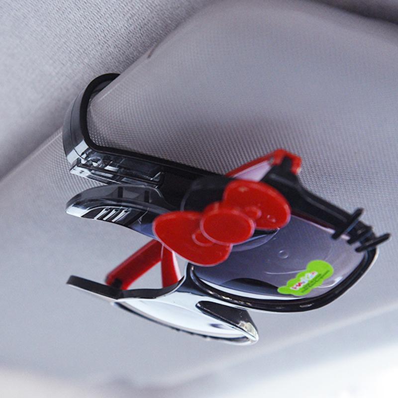 Universal Car Sun Visor Glass Clamp Bracket Clip Card Sunglasses Holder For Mini Cooper One JCW F54 F56 R60 R61 Car Accessories