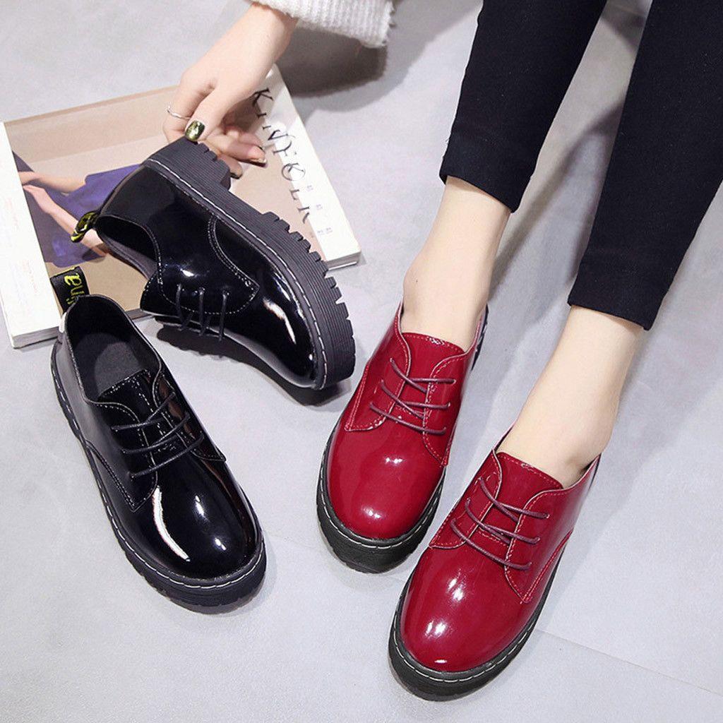 Großhandel Kleid Frau Frühling Herbst Einzelne Schuhe Casual Runde Kappe Stiefel Leder Plattformen Quadratische Ferse Schuhe Mode Leder Rutschfeste