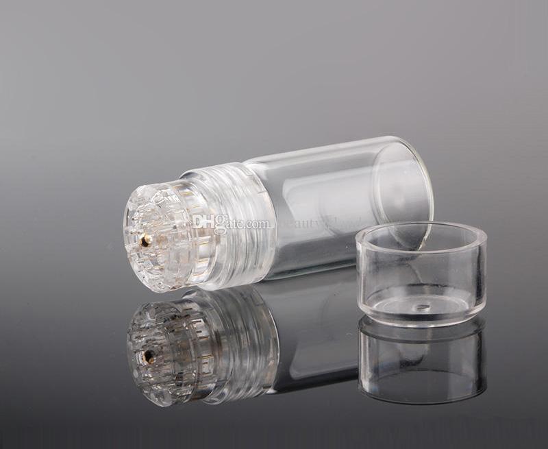 Microneedle Derma Штамп 20 Pins Titanium Derma Штамп Microneedling Gold Titanium Micro Needle Система Доставки Жидкости Для Омоложения Кожи