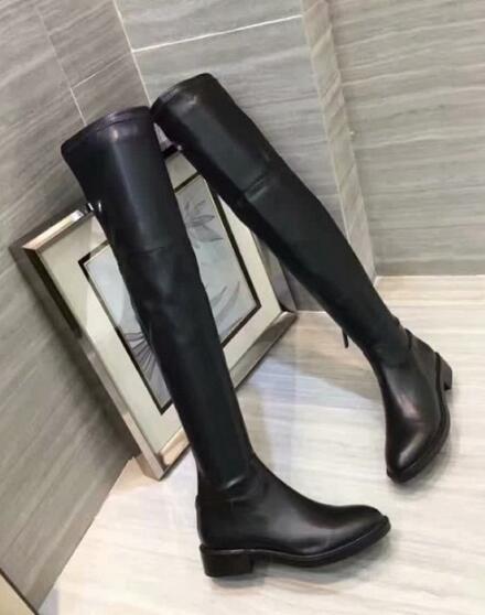 Heiße Verkauf-Luxus neue Frauen reizvolle dünne Bein-weibliche Aufladungen Dame Winter Snow Long Oberschenkel-High Boot Size 35-40