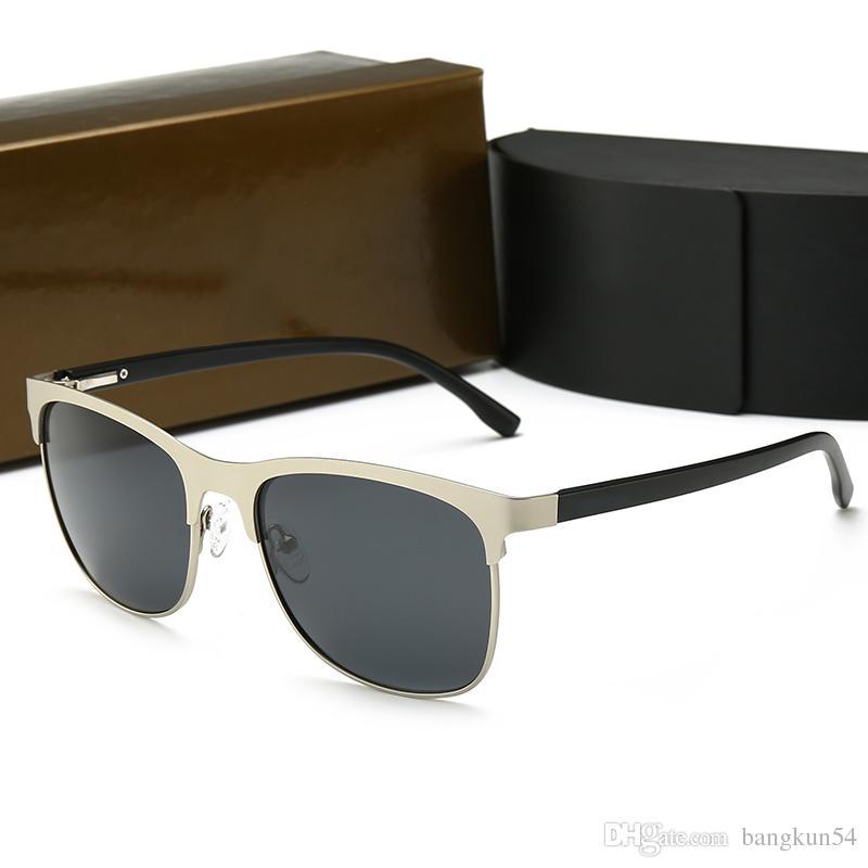 Neue modedesigner männer Sonnenbrillen full frame BMW009 modell hochwertige uv350 schutzbrille mit originalbox