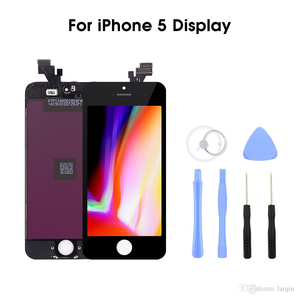 Brand New Premium Quality Grade A+++ LCD Screen for iPhone 5/5C/SE/5S Display Replacement with 3D Touch Screen