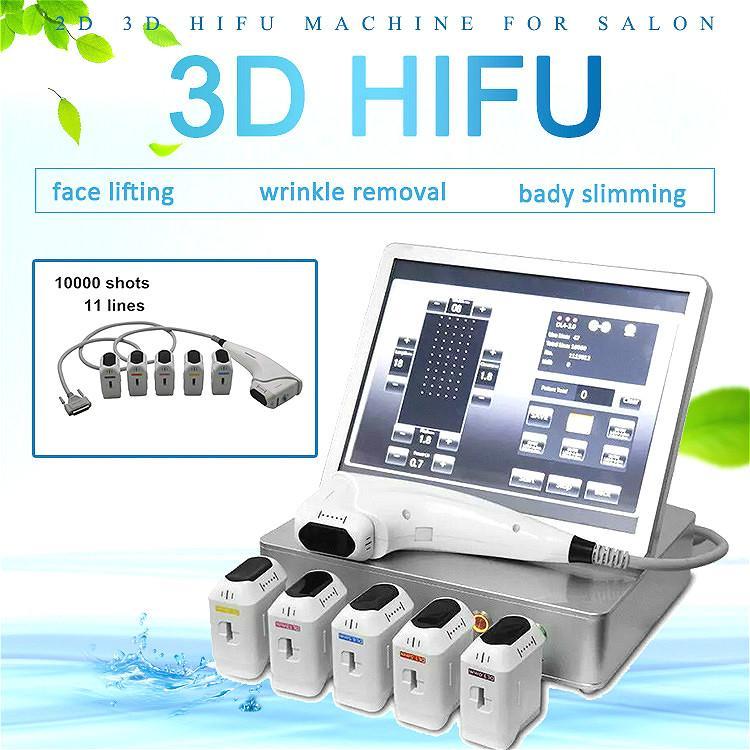 2020 уникальный 3D машины ультразвука HIFU высокой интенсивности сфокусированный кожа HIFU затягивая терапия тела профилировщика уменьшая машину HIFU красоты
