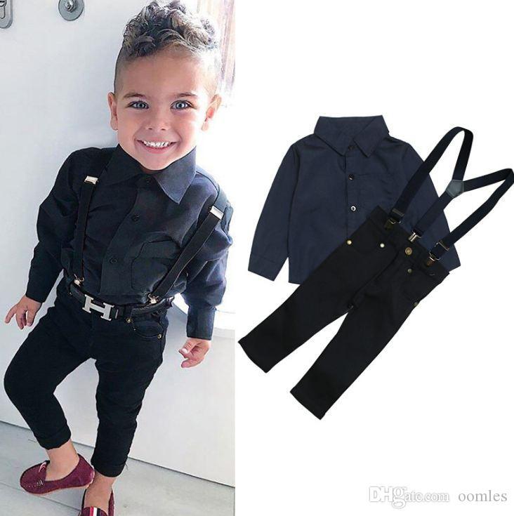 la ropa del bebé de los niños pequeños chándal sistema de la moda casual de invierno de la ropa del 2 PC se adaptan al por mayor