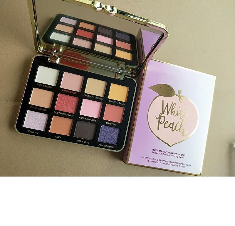 maquillage makeup Latest Just Peachy Mattes Eyeshadow Palette 12 Colors Eyeshadow Makeup velvet matte eye shadow palette