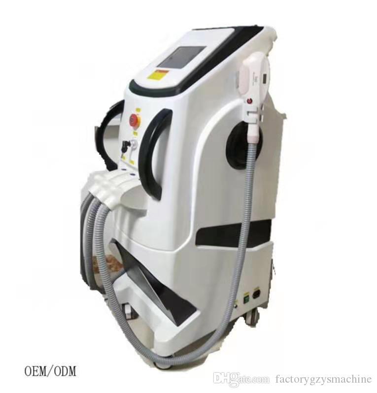 360 magneto óptica multifuncional 4 em 1 Depilação + rejuvenescimento da pele + Picosure Laser + Cara RF máquina de elevação