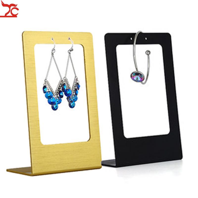 Stainless Steel Earrings Jewelry Display Organizer Storage Hanger Showcase Rack Jewelry Organizer