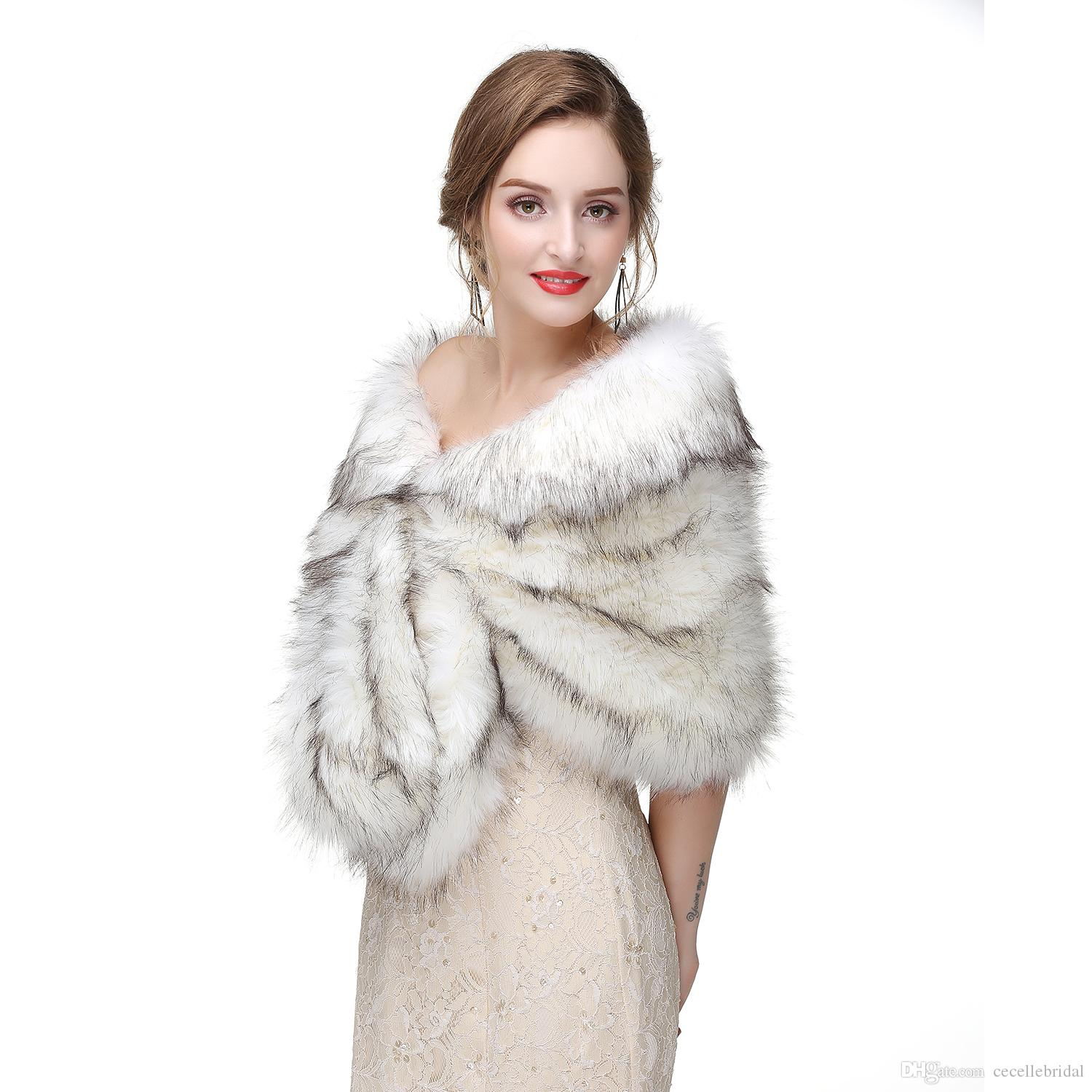 FAUX FUR SHRUG//BOLERO//CAPELET//JACKET//STOLE//COAT,DH,S-XL