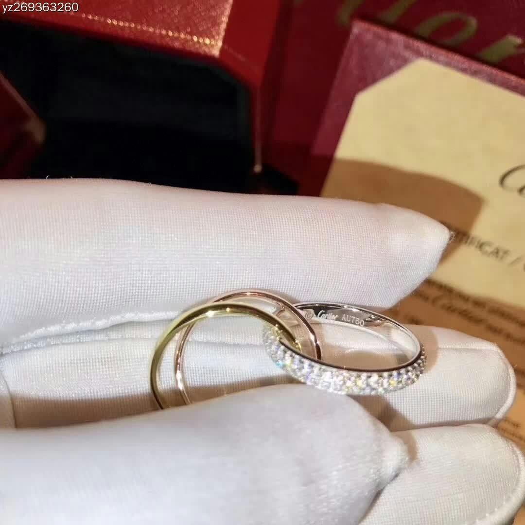 halka Takı vaadi c 925 gümüş 3 adet Aşk Altın Kristal elmas erkek Hediye Gypsophila 20209ffc # ayarlar sterlini alyans