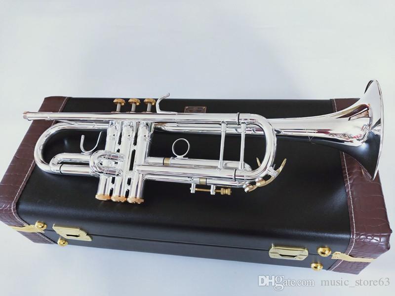 جديد باخ البوق أفضل جودة LT197S-99 B البوق شقة بالفضة الفنية البوق آلات موسيقية هدية