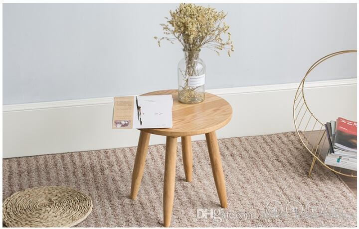 Acheter Moderne Style Simple Meubles Petit Ménage Salon Pratique Mobilier  Salon Table À Thé Table À Café Rond Coin De $104.4 Du Meow_householdes | ...