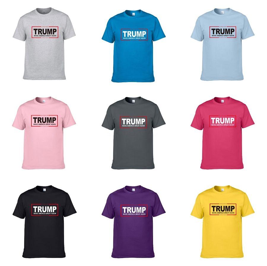 2020 Lüks Moda İtalya Tasarımcı Çizgili Trump T Gömlek Lüks Yılan Arı Çiçek Nakış Erkek High Street Moda At Trump Tişört # 256