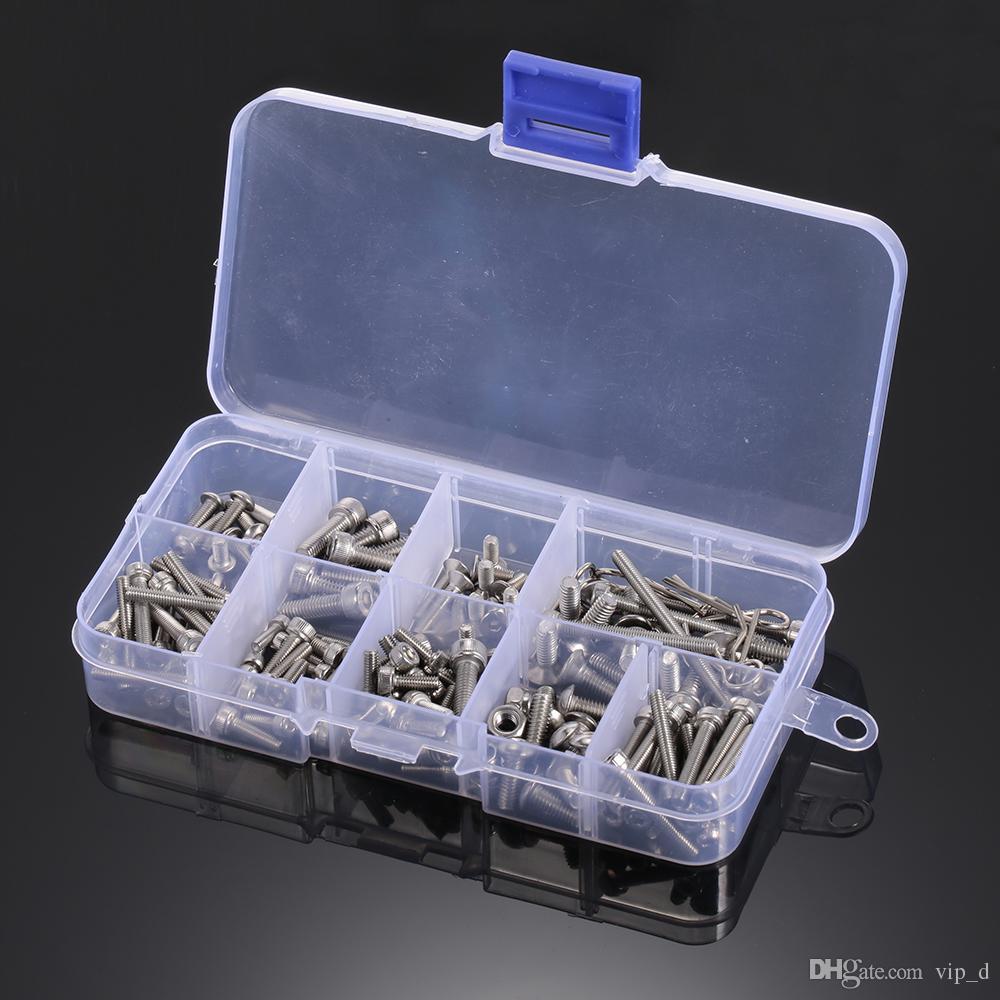 Оптовая RC Винты из нержавеющей стали Металлический винт Комплект для Traxxas Slash 4x4 Short грузовик внедорожных RC частей автомобиля DIY автомобиля Комплект инструментов DHL