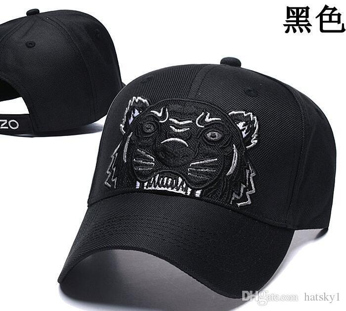 2020 Marke Tiger-Kopf-Entwurf Cap Herren-Baseballmütze für einen Mann eine Frau 4 Jahreszeiten justierbarer Hut in hohem Grade Qualitäts