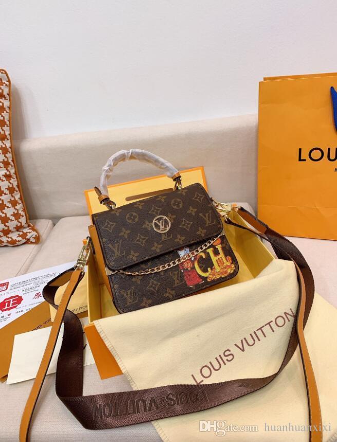Mode féminine Concepteurs Sac à bandoulière Mini chaîne flip sac à bandoulière Sac à main en cuir de haute qualité Livraison gratuite