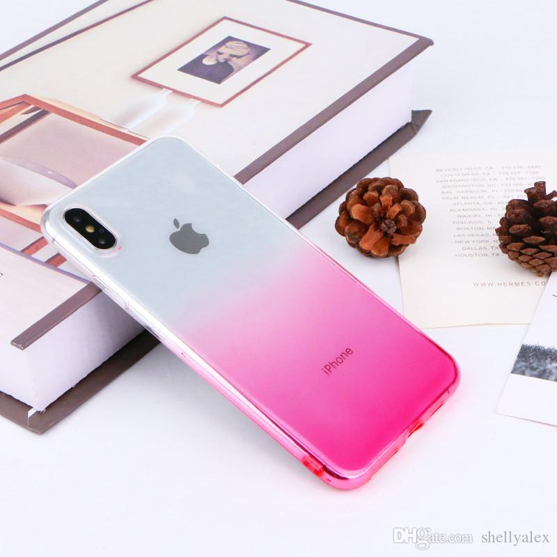 TPU étui souple cas anti-choc téléphonique pour iPhone 11 11Pro max 6s 7 8 Plus XS MAX XR