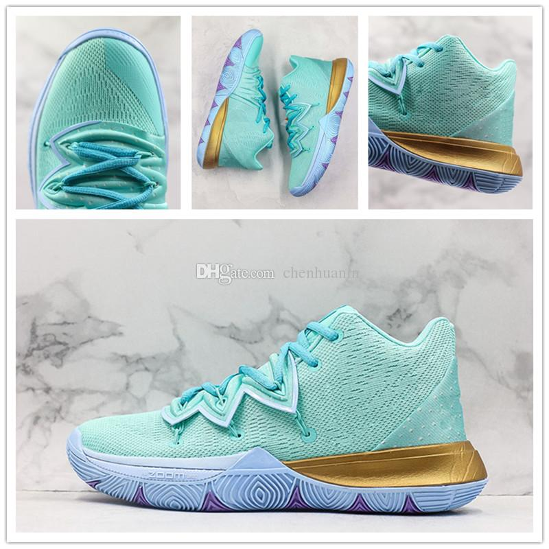 Hot Kyrie 5 Squidward Basketball Shoes