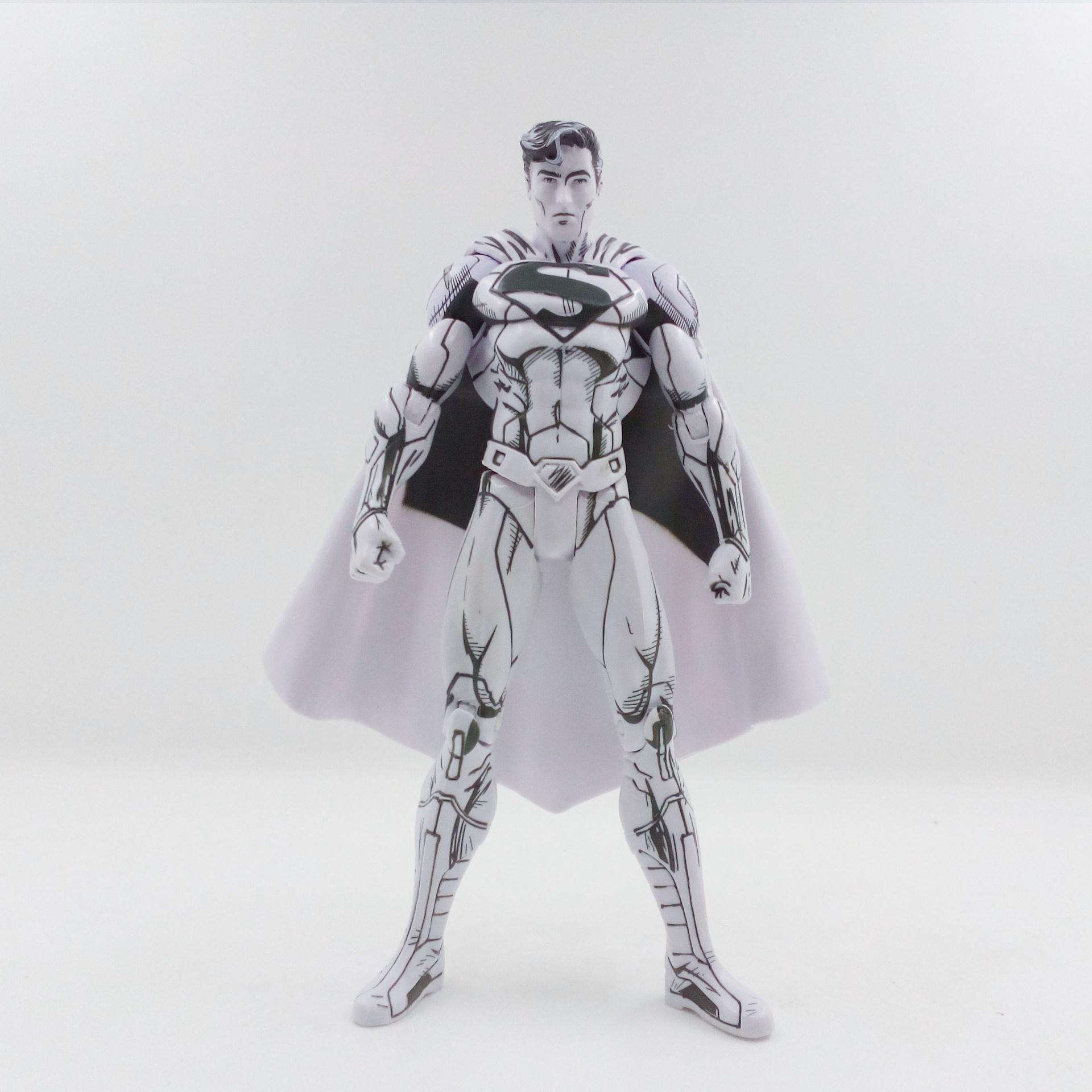 Der Sketch Ausgabe Cartoon Superman DC Anime PVC Figure 17cm