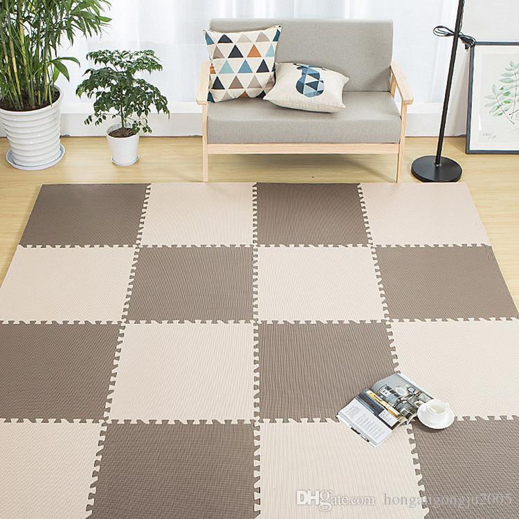Schiuma tappeto 30 60 centimetri per bambini schiuma puzzle del bambino di cuciture tappeto colore solido soggiorno tappetino insapore bambini Cuscino parco divertimenti cuscino
