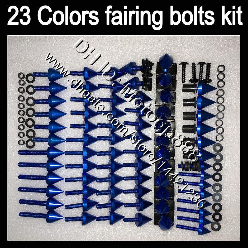 OEM de cuerpo completo kit de tornillos para Ducati 749 999 03 04 05 06 749S 999S 749R 999R 2003 2004 2005 2006 GP167 del carenado tuercas tornillos juego de pernos Tuerca
