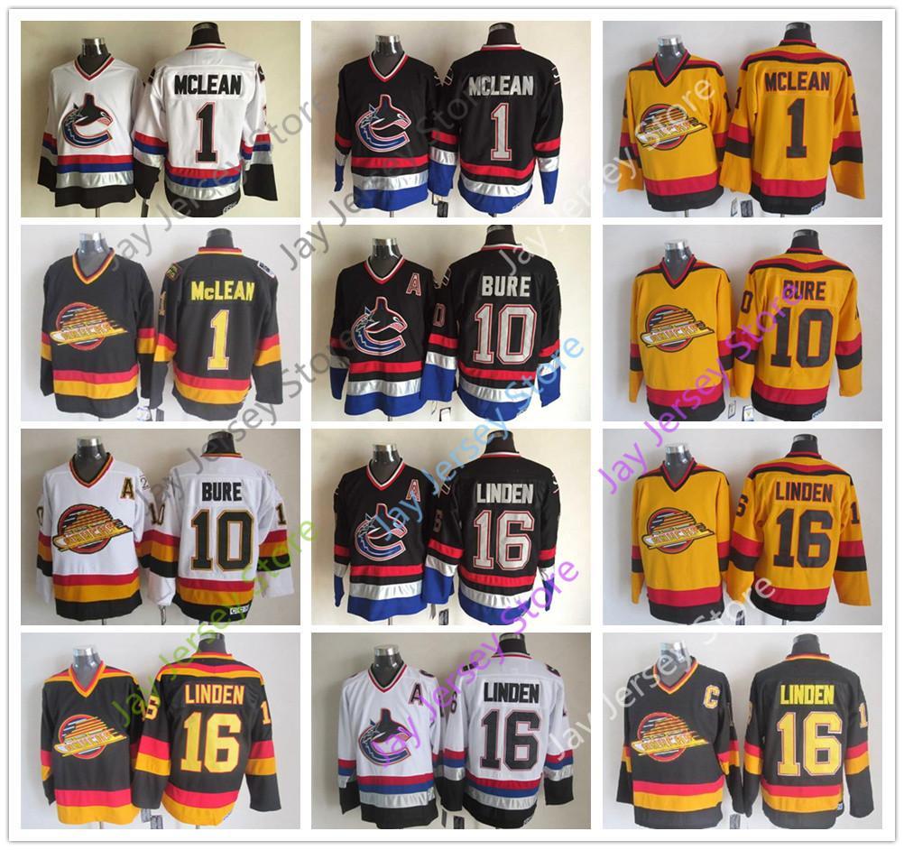 Vancouver Canucks Jersey Ice Hockey CCM