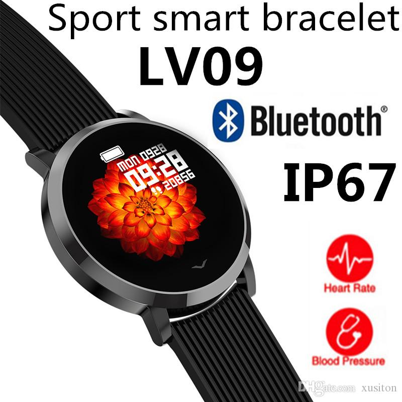 LV09 Fashion Sport smart bracelet Blood Pressure Heart Rate fit-bit Activity Fitness Tracker for iOS-Apple xiaomi mi band 4 fitness watch M4