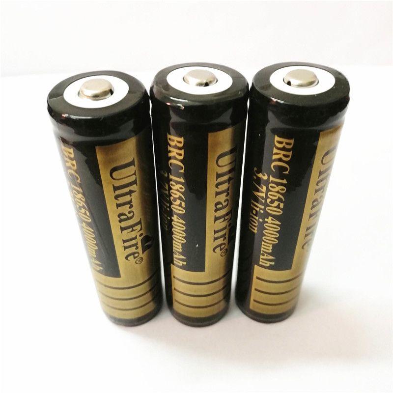 بطارية ليثيوم وأشار جودة عالية 18650 UltreFire 4000mAh البطارية 3.7V يمكن استخدامها للمنتجات الالكترونية مثل مصباح يدوي مشرق. F