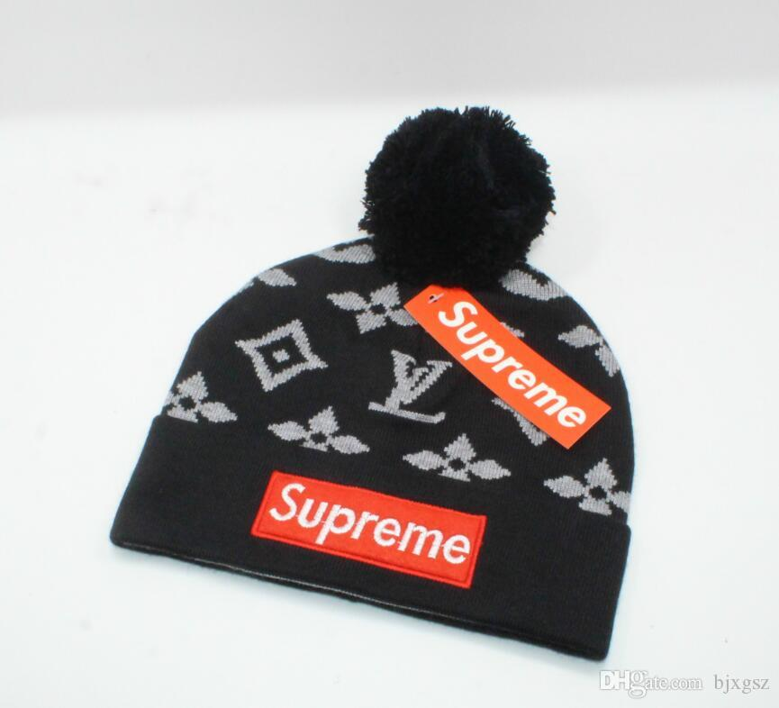 Новая Франция мода мужские дизайнеры шляпы капот зимняя шапочка вязаная шерстяная шапка плюс бархатная шапка маска бахрома шапочки шляпы человек