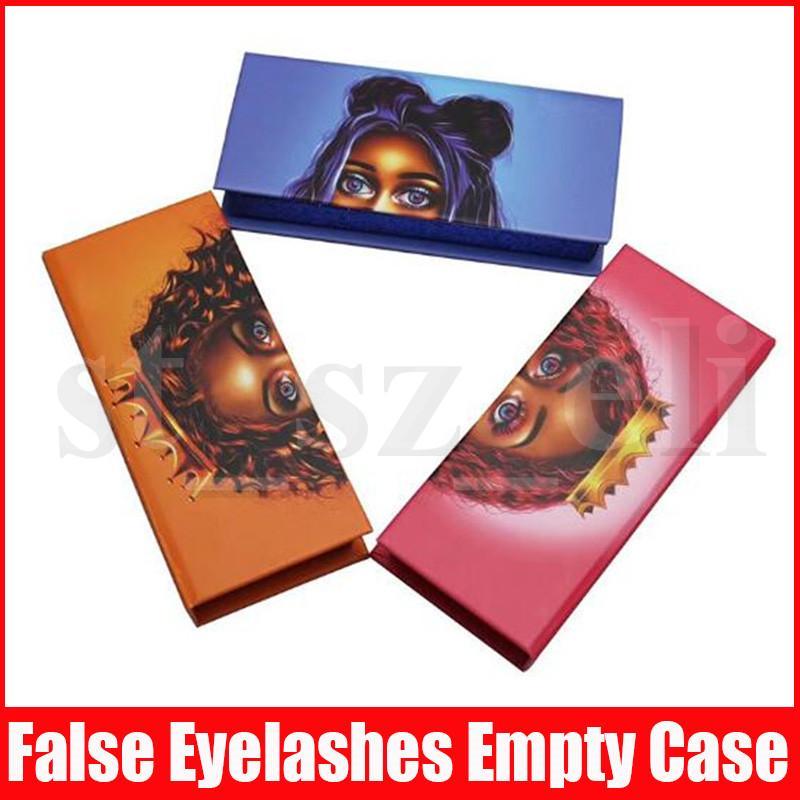 Eyelash Packaging Box 3D 5D Mink Eyelashes Lash Boxes Packaging false eyelashes Case Magnetic Eyelash Box