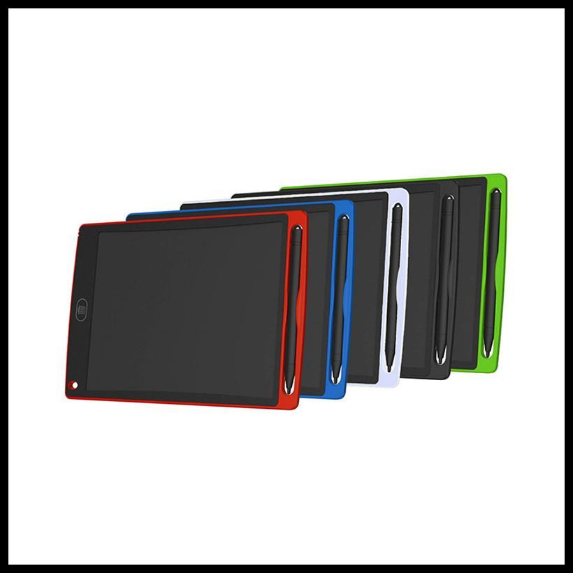 8,5 pouces LCD écriture planche à dessin tablette Tableau noir Handwriting Tapis cadeau pour les enfants sans papier Bloc-notes avec un stylo Comprimés Mémo NOUVEAU Upgraded