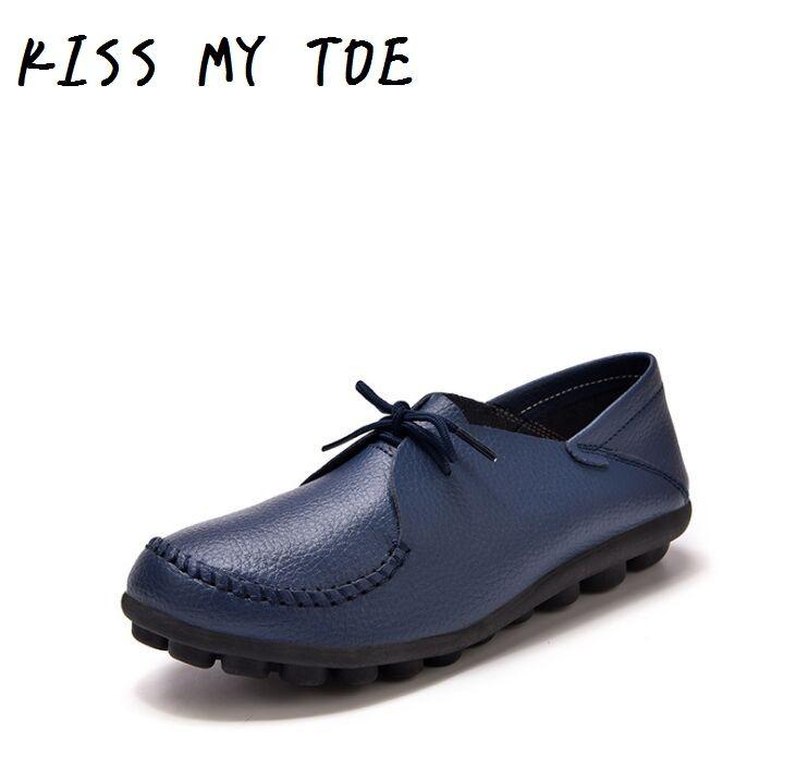 Moda 2020 New Soft Vera pelle casual scarpe traspiranti per le donne piani delle signore formatori Chaussure Femme Zapatos Mujer