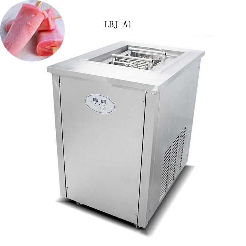 O envio gratuito de aço inoxidável creme de gelo duro / barata de gelo de aço inoxidável lolly máquina para fazer sabor de frutas picolés