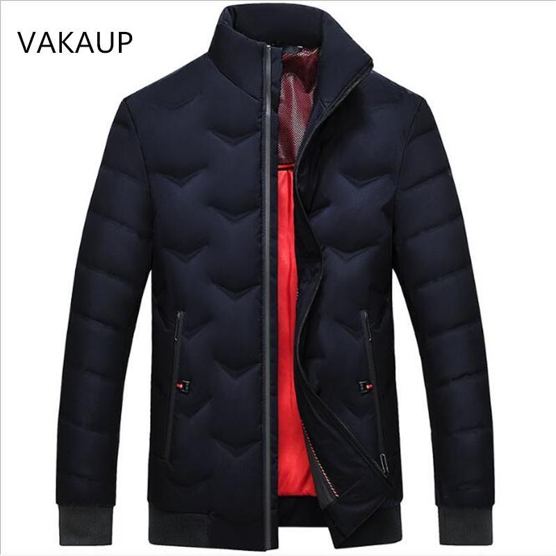 2018 Nouvel Hiver Épais Chaud Mens Mode Loisirs Ville Affaires Down Jacket Casual Canard Duvet Manteau 90 / 100Duck