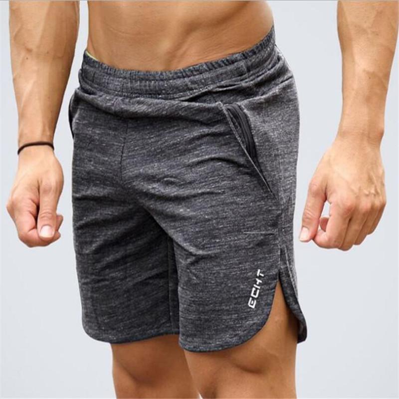 New Fashion Men Sporting Beaching Shorts Trousers Cotton Bodybuilding Sweatpants Fitness Short Jogger Casual Gyms Men Shorts Fitness