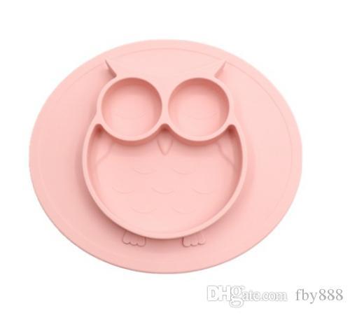 تغذية الطفل شفط لوحة BPA سيليكون مجانا طفل السلطانية للأطفال الصف الغذاء غير حصيرة زلة