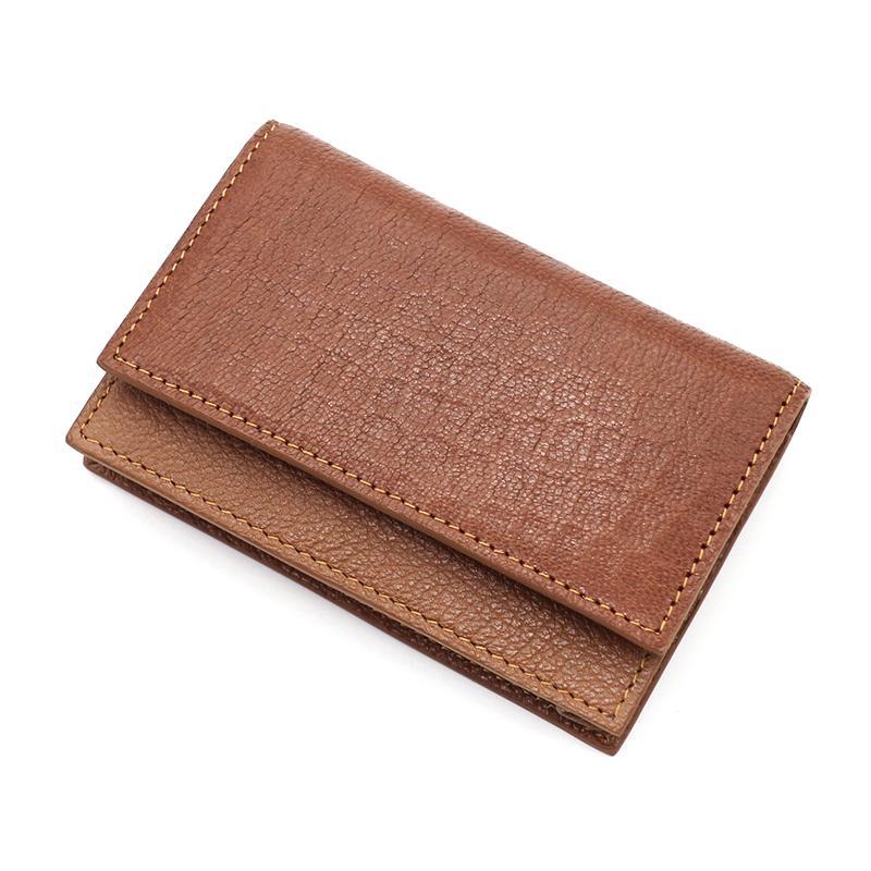 2020 Fashion degli uomini del cuoio genuino della borsa di cuoio portafoglio raccoglitore delle donne di svago per gli uomini titolari di carta portafogli C62 gratis