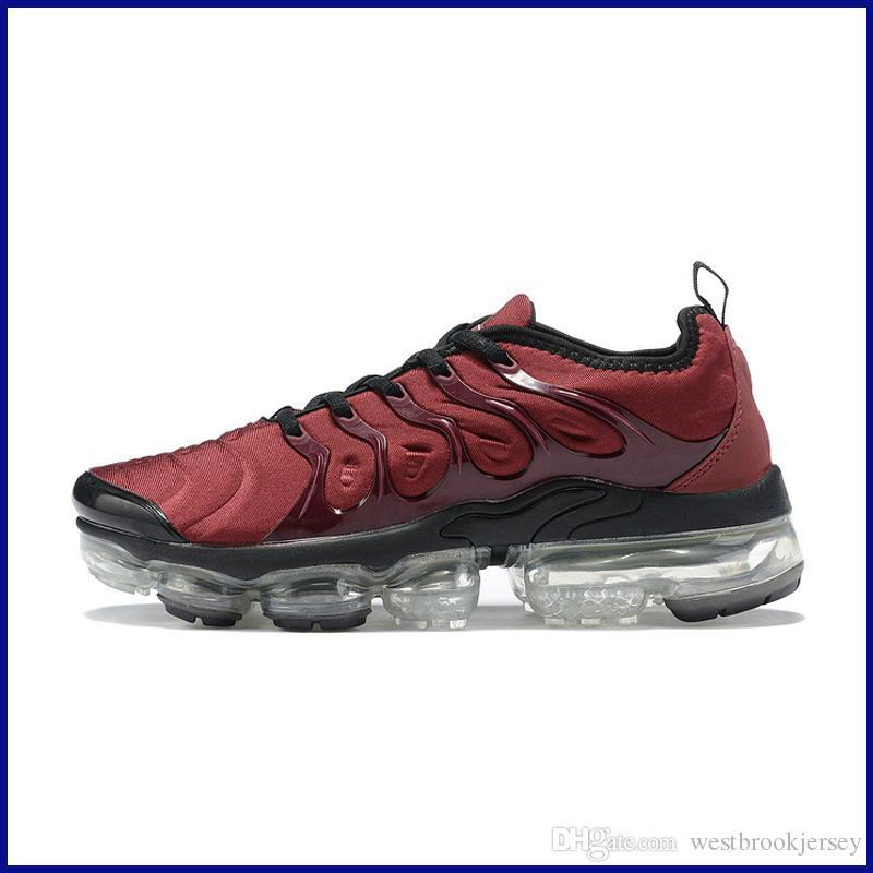 Marca TN Plus diseñador para hombre de las zapatillas de deporte al aire libre Tns zapato zapatos Gym Fitness Blanco Negro Gris Deporte Formadores Chaussures baratos en línea
