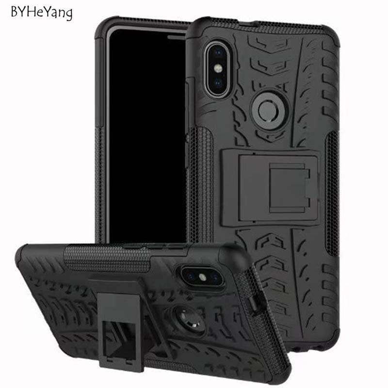huge selection of 860ef 0fd96 For Xiaomi Redmi Note 5 Case Note5 Global Version TPU+PC Silicone Kickstand  Cover Armor Case For Redmi Note 5 Pro Cover 5.99inch Heavy Duty Cell Phone  ...