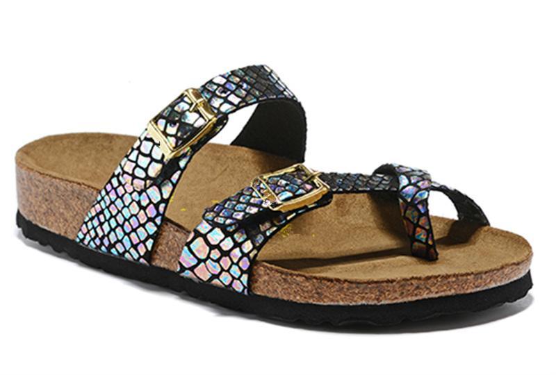 Mayarí Florida Arizona 2020 caliente verano de la venta mujeres de los hombres zapatillas sandalias de corcho pisos unisex zapatos casuales zapatillas de playa de tamaño 34-46