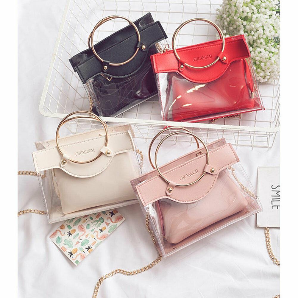 Frauen Kleine Umhängetasche Handtasche gesteppte Handtasche Tasche mit Schultergurt Kette gesteppte Handtasche Tasche mit Kette Schultergurt