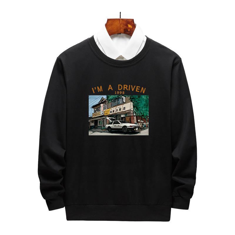 مصمم رجالي هوديي رجالي الهيب هوب الخريف الشتاء عارضة قطعة واحدة فقط دون هوديس قميص الفاخرة الرجال تصميم شخصية العلامة التجارية الرجال هوديي