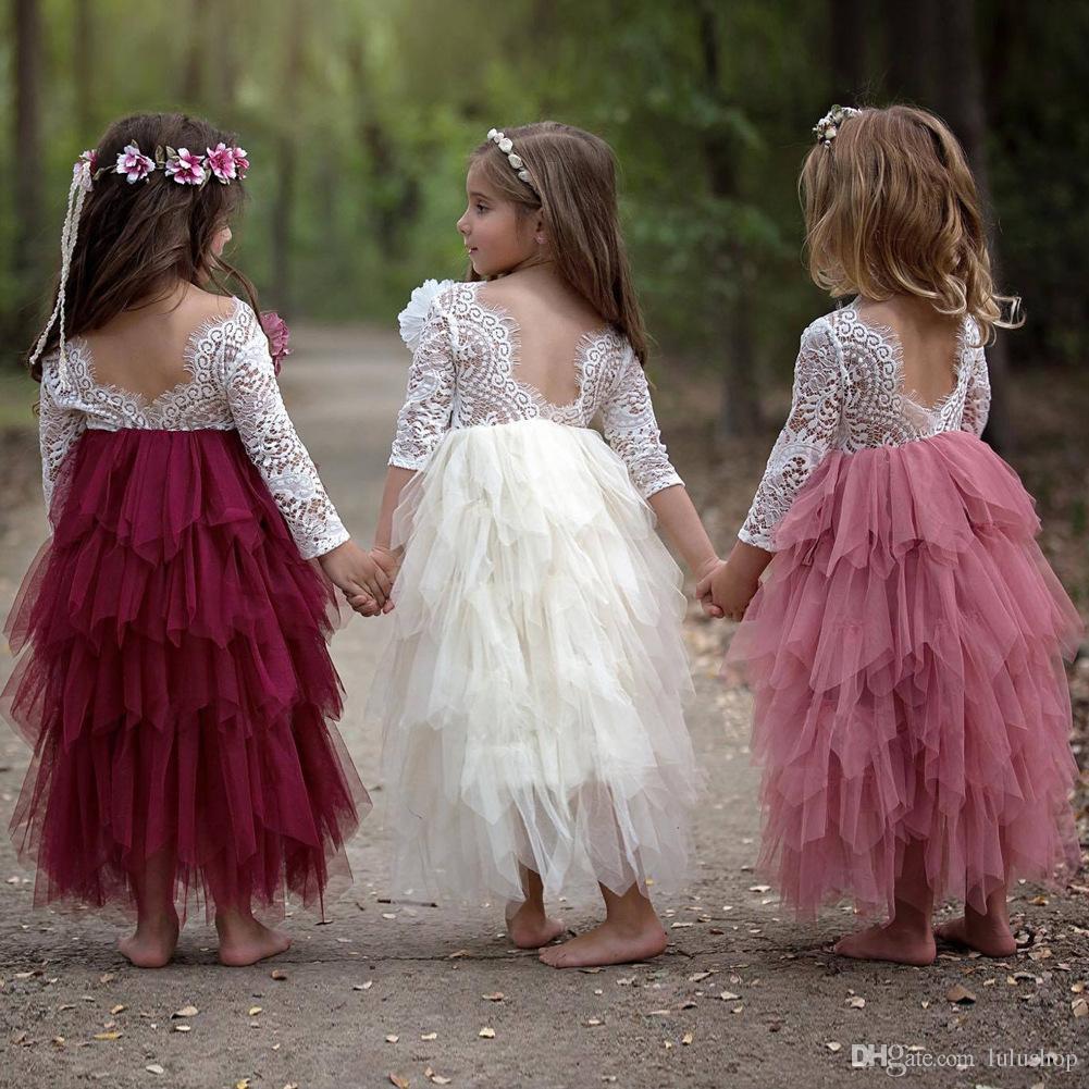 Compre Vestidos Vestido De Verano Para Niñas 2018 Marca Sin Respaldo Fiesta Para Adolescentes Unicornio Princesa Vestido Para Niños Traje Para Niños