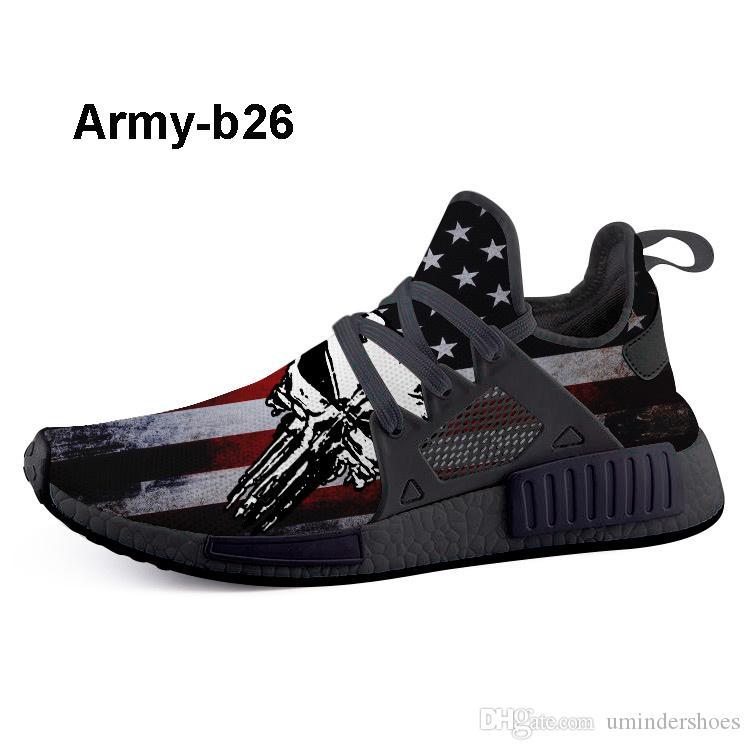 2020 Shop Army B17 Print Custom Tennis